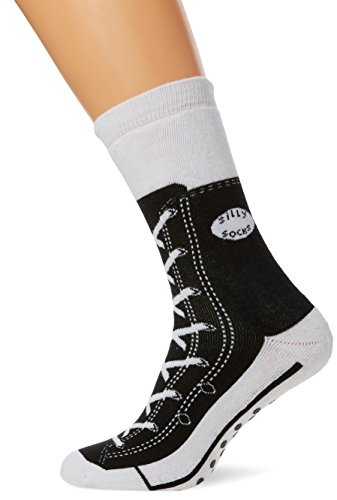 Tobar 27518Noir Sneaker Chaussons chaussettes (Taille 5–11)