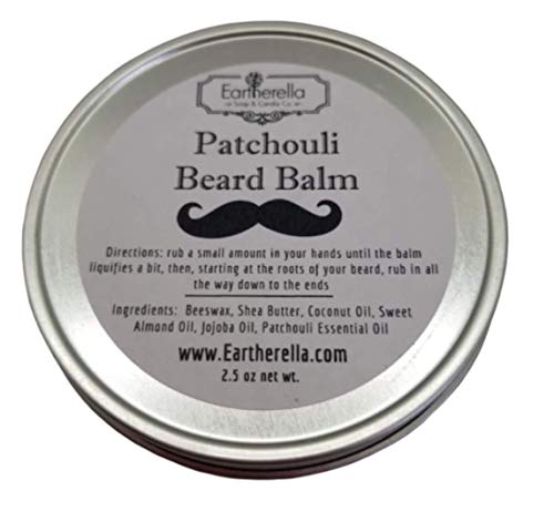 Mens PATCHOULI scented natural BEARD product image
