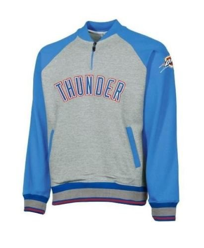 new concept a61ec 3b85c Image Unavailable. Image not available for. Color  ZIPWAY Oklahoma City  Thunder NBA Big and Tall Mens Pullover Sweatshirt, Gray ...