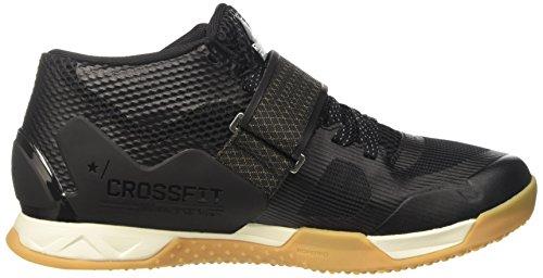 Reebok Bd5299, Zapatillas de Deporte para Mujer Negro (Black /             Classic White /             Rbk Rubber Gum /             Pewte)