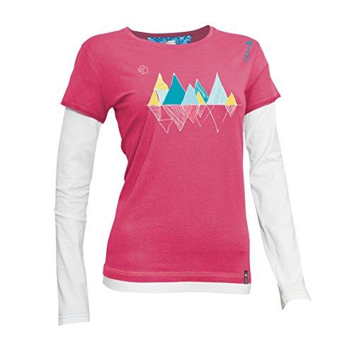 deep Ls T Rose Climbing Candy shirt Topaze Femmes Abk q0BwW