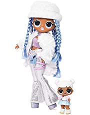 L.O.L. Surprise O.M.G. Winter Disco Snowlicious Fashion Doll & Sister, Multi-Colour, 561828