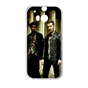 HTC One M8 Cell Phone Case Covers White Massive Attack LUK Protective Custom Case