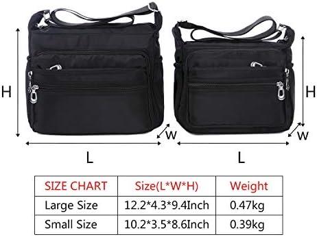 Adagod Women Fashion Canvas Handbag Shoulder Bags Shopping Linen Casual Totes