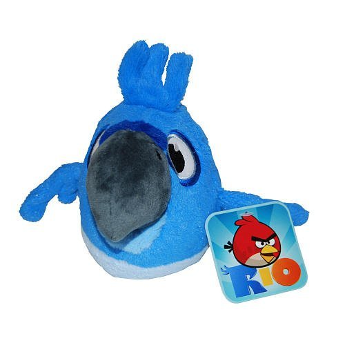 Angry birds plush blue 5
