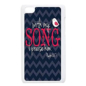High-quality Case for iPod touch4 w/ Musical Words image at Hmh-xase (style 5)