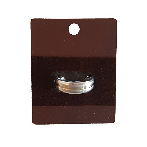Jewelry Shades (Cordovan shade 50 Ring Jewelry Display Hanging Cards Showcase (1.88