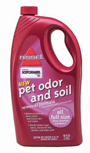 Bissell 730 Pet Stain & Odor Removal Formula with Scotchgard Protector