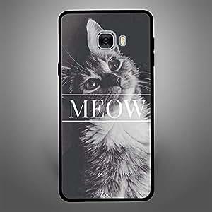 Samsung Galaxy C7 Meow Cat