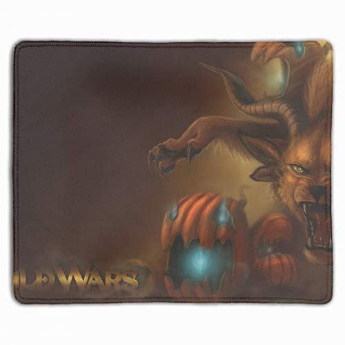 Mouse Pad,Halloween Guild Wars Printed Mousepad Non Slip Rubber Mouse pad Gaming Mouse Pad -