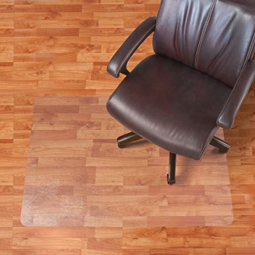 (Realspace Hard Floor Chair Mat, Rectangular, 46