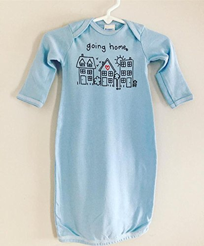 Going Home Gown, Infant Sleeper, Layette Romper, Baby Shower Gift