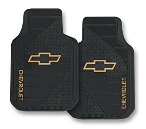 chevy factory style trim to fit molded front floor mats set of 2 automotive. Black Bedroom Furniture Sets. Home Design Ideas