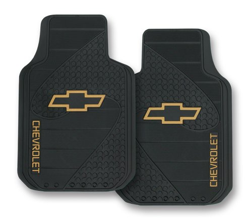 - Plasticolor 001381R01 Chevy Factory Style Trim-To-Fit Molded Front Floor Mats - Set of 2
