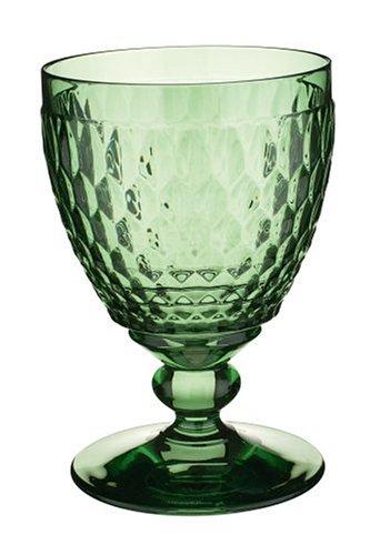 Villeroy & Boch Boston Green Crystal Goblet