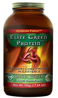HealthForce SuperFoods Elite Green Protein Cool Green 500 Grams Powder by HealthForce SuperFoods