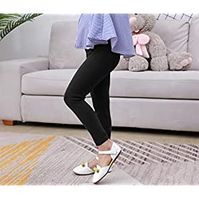 IRELIA Girls Leggings 3 Pack Modal Solid Size 4-16 Spring/Fall