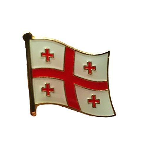 Backwoods Barnaby Georgia Flag Lapel Pin (Lapel Pin Georgia)