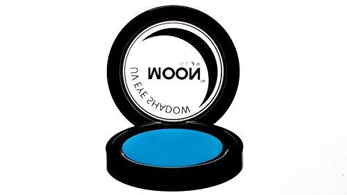Moon Glow - Blacklight Neon Eye Shadow 0.12oz Blue - Glows brightly under Blacklights / UV Lighting!