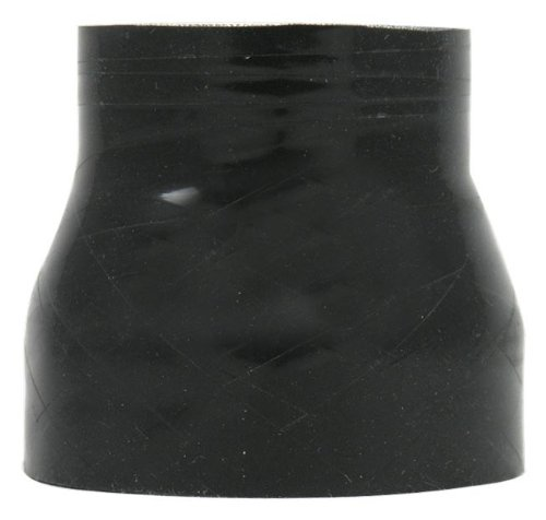 Black 4 Ply Polyester Verocious BOOST PROOF Silicone Hose Reducer 2.5 x 3 ID x 3 Long