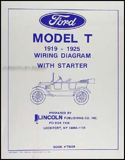 1919 1925 ford model t wiring diagram manual reprint lincoln1919 1925 ford model t wiring diagram manual reprint lincoln publishing amazon com books
