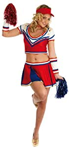 College Cheerleader - Glee. Costume Fancy Dress Clothing. Size : Large. (disfraz)