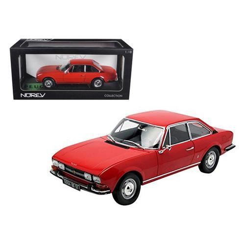 Norev - 184776 - Peugeot 504 Coupe 71 Rouge - 1:18