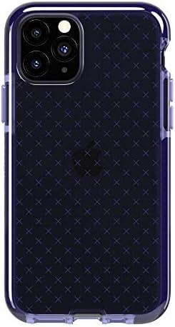 Tech21 EVO Check Funda Protectora Fina Rígida para iPhone 11 Pro - Índigo: Amazon.es: Electrónica