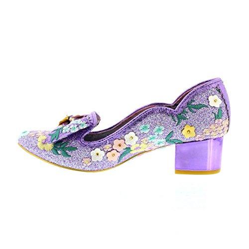 Irregular Choice Bunny Hop - Purple Floral