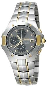 Seiko Men's SNA548 Coutura Alarm Chronograph Watch
