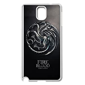 Game of Thrones Samsung Galaxy Note 3 Cell Phone Case White Delicate gift JIS_396004