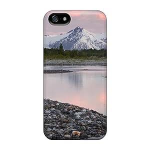 Shock-dirt Proof Alsek River Valley In Alaska Case Cover For Iphone 5/5s