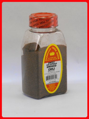 SMOKED SWEET SAN ANTONIO CHILI POWDER FRESHLY PACKED IN LARGE JARS, spices, herbs, (Marshalls Store San Antonio)