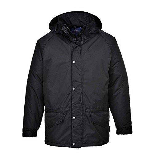 Portwest S530 - chaqueta Arbroath, color Armada, talla XL Negro