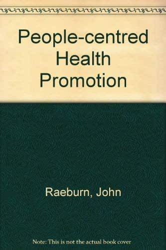 People-Centred Health Promotion