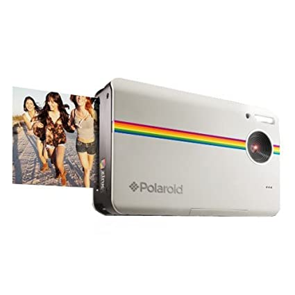 .com : polaroid z2300 10mp digital instant print camera (white ...