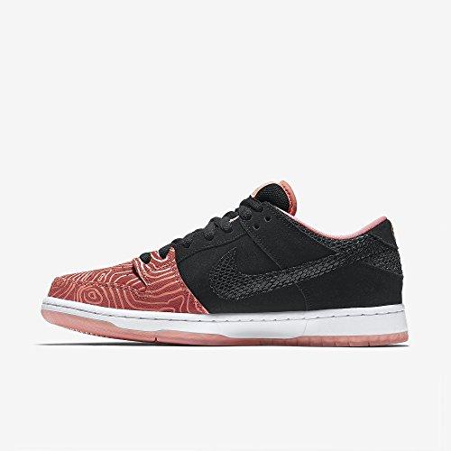 Nike Mens Dunk Low Premium Sb, Scala Di Pesce-atomic Rosa / Nero-bianco, 10,5 M Us