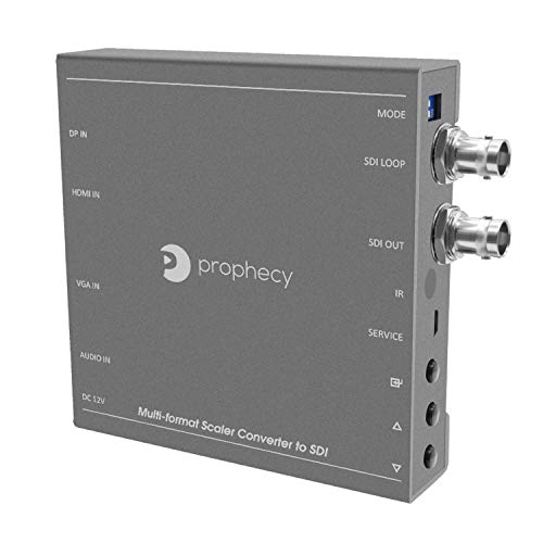 gofanco Prophecy Multi Video Format to SDI Scaler Converter - Input HDMI/Mini DisplayPort/VGA, SDI Output up to 3G/HD/SD-SDI, SDI Loopout, Frame Rate Conversion (PRO-Scaler2SDI)