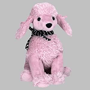 Ty Beanie Babies - Brigitte the Pink Poodle Dog