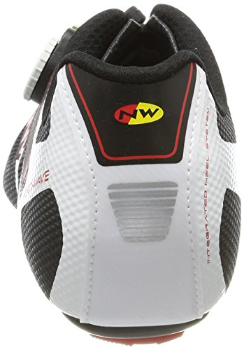 Northwave Sonic 2 Plus 2 Scarpe Black/White/Red
