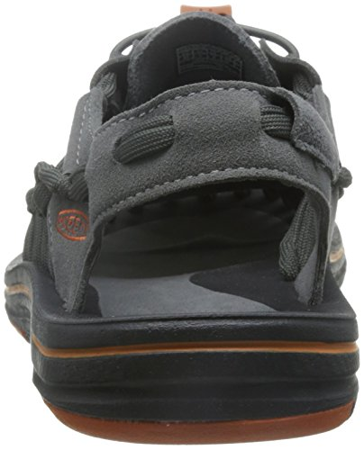 Keen Uneek 8mm Camo - zapatillas de trekking y senderismo de media caña Hombre gargoyle/orange