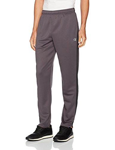 Champion Men's Vapor Select Training Pant, Shadow Gray/Black, - Wear Outlet Athletic