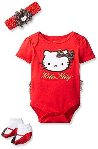 Hello Kitty Baby Girls' Gift Set, Fuchsia Purple, 0-6 Months