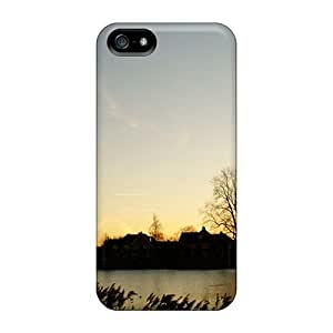 Durable Village Lake Meteor Back Case/cover For Iphone 5/5s