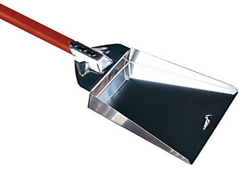 Paderno World Cuisine Ash Shovel, Stainless Steel, Aluminum Handle