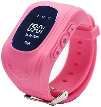9Tong Niños, Reloj Inteligente con GPS, Reloj rastreador de Niños ...