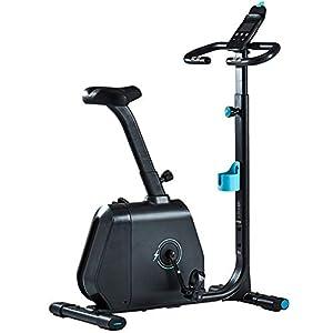 41BVbeS2UzL. SS300 Allenamento Spin Bike Professionale Cyclette Aerobico Home Trainer, Monitoraggio Della Frequenza Cardiaca, Volano Silenzioso Tutto Compreso in Magnetron, Monitor Lcd, Tecnologia Nera Autoaliment