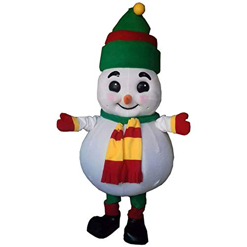 Frosty The Snowman Mascot Costume Party Character Christmas