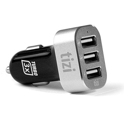 equinux tizi Turbolader  3x USB Auto-Ladegerät, 5,1A High Power (bis 2,1A)