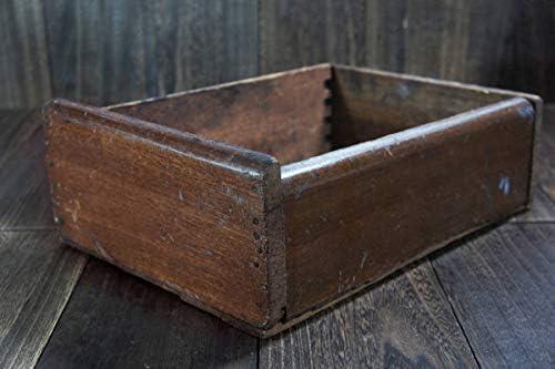 Ogu-082工具箱木製:キズ汚れ 昭和工具 動画toolbox時代物昭和レトロ蔵出掘出 アンコレ